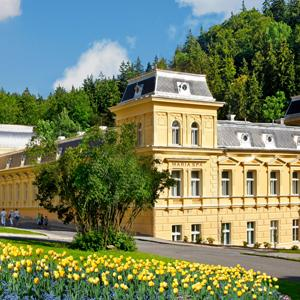 Spa hotels in Marienbad